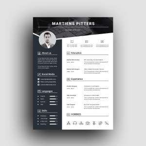 Berlin Premium Professional Resume Template