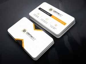Brilliant Elegant Corporate Business Card Template