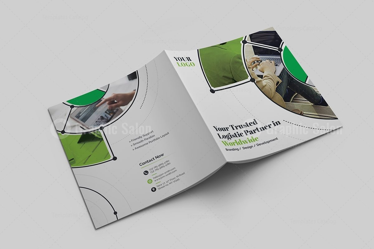 Business Corporate Brochure Template - Graphic Templates Intended For Ngo Brochure Templates
