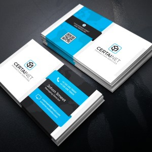 Carbon Elegant Corporate Business Card Template