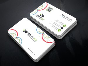 Circle Premium Business Card Template