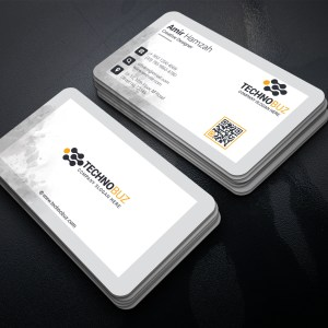Classy Corporate Visiting Card Template