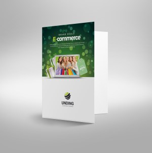 Commerce Elegant Corporate Presentation Folder Template