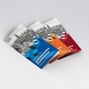 Cube Premium Tri-Fold Brochure Template