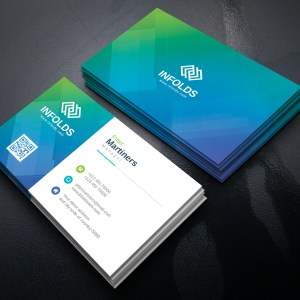 Cyan Professional Corporate Business Card Template