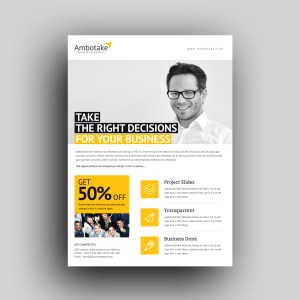Dinlas Professional Corporate Flyer Template