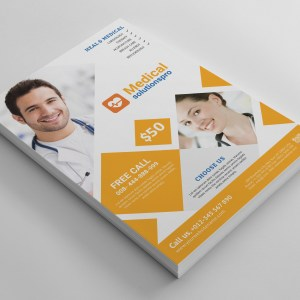 Elegant Medical Flyer Template