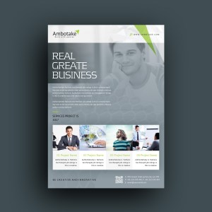 Erebus Professional Corporate Flyer Template