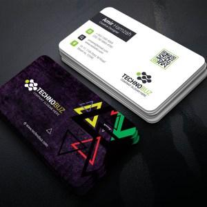 Erebus Professional Corporate Visiting Card Template