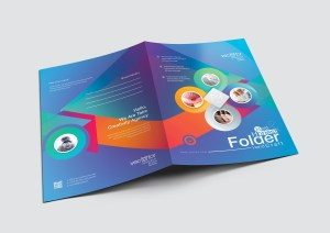 Excellent Elegant Presentation Folder Template