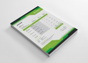 Gala Stylish Corporate Invoice Template
