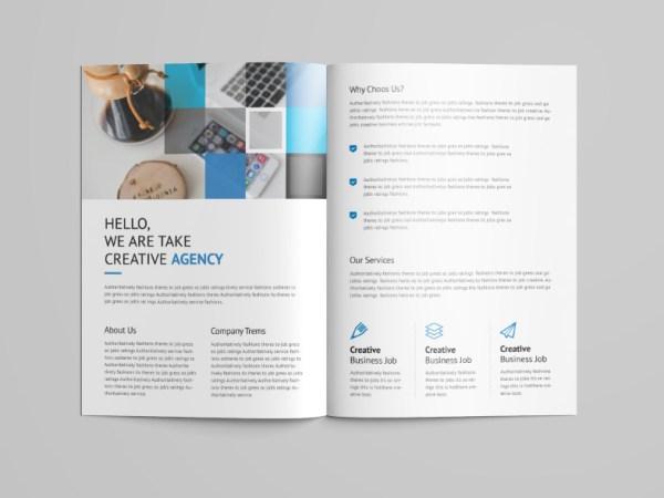 Goddess Professional Bi-Fold Brochure Template