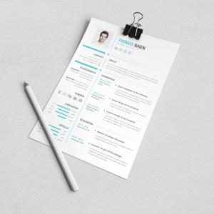 Hades Premium Professional Resume Template
