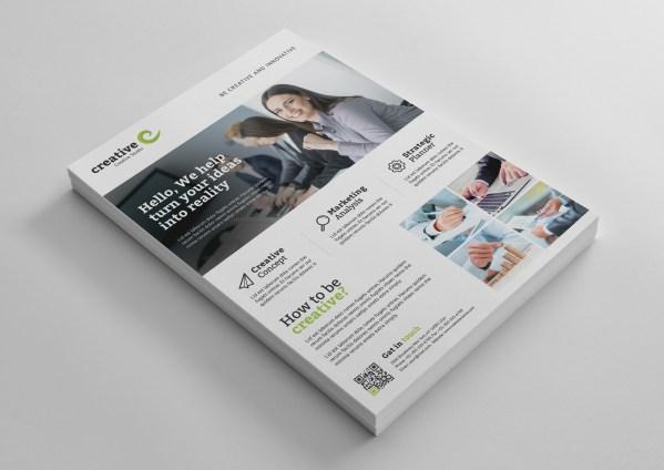 Helsinki Modern Professional Business Flyer Template