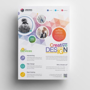 Hephaestus Elegant Corporate Flyer Template