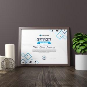 Hera Landscape Certificate Template