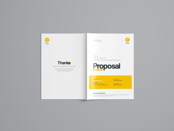 Hera Premium Business Project Proposal Template