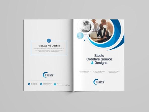 Hypnosis Professional Bi-Fold Brochure Template