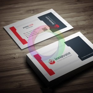Innovate Business Card Template