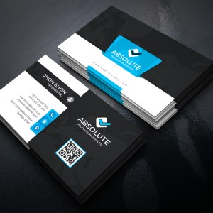 Krypton Stylish Corporate Business Card Template