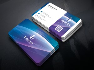 Luminous Elegant Corporate Business Card Template