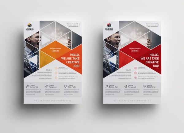 Mars Elegant Premium Business Flyer Template