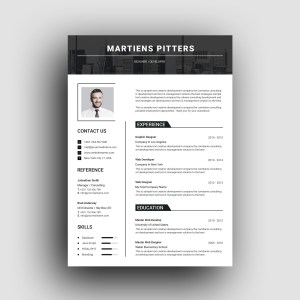 Milan Clean Professional Resume Template