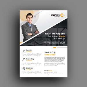 Milan Elegant Professional Business Flyer Template