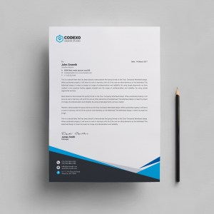 Mira Professional Corporate Letterhead Template