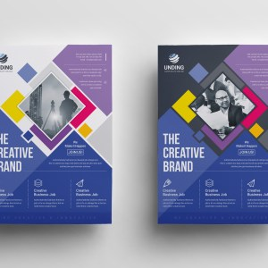 Neptune Stylish Premium Business Flyer Template