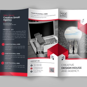 New Idea Tri-Fold Brochure Template
