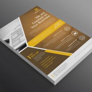 Nova Modern Professional Business Flyer Template