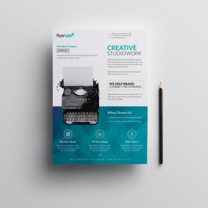 Ocean Elegant Premium Business Flyer Template