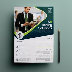 Oceanus Professional Corporate Flyer Template