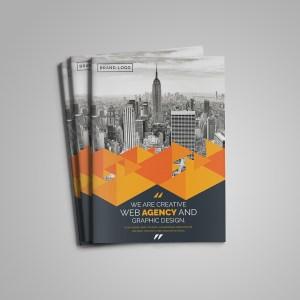 Pearl Bi-Fold Brochure Template