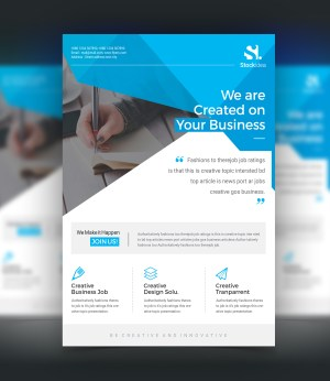 Pegasus Modern Professional Business Flyer Template