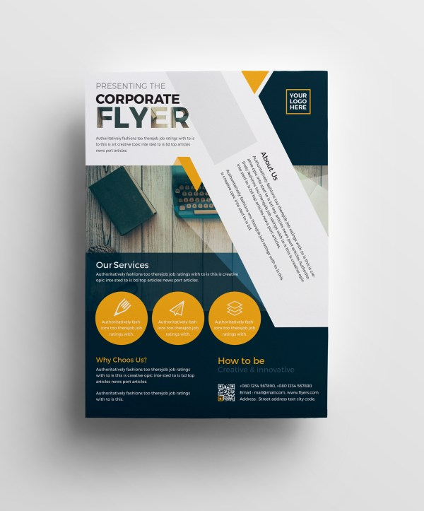 Plutus Professional Corporate Flyer Template
