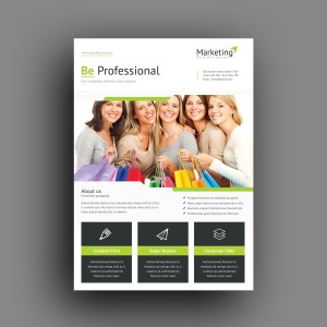 Poseidon Professional Corporate Flyer Template