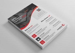 Prague Stylish Professional Business Flyer Template