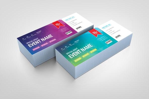 Premium Event Ticket Template
