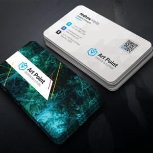 Premium Professional Corporate Visiting Card Template
