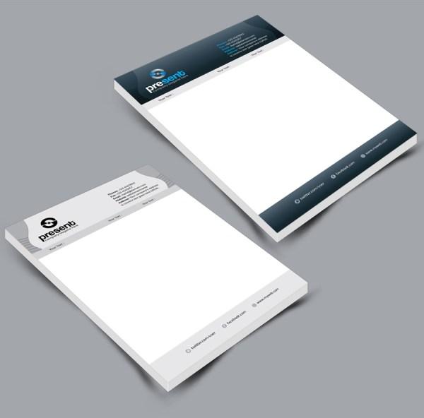 Present Corporate Identity Brand Pack