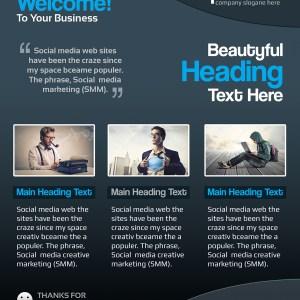 Present Elegant Professional Business Flyer Template
