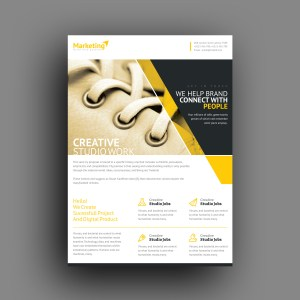 Prometheus Professional Corporate Flyer Template