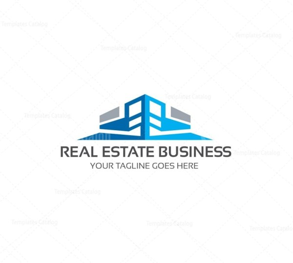 Real estate company logo template graphic templates real estate company logo template 1g flashek Images