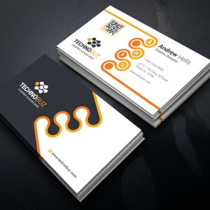 Revolution Business Card Template