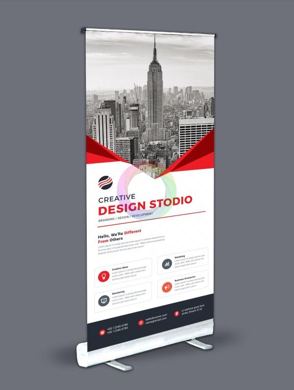Roll-Up Banner Design Template Bundle 5
