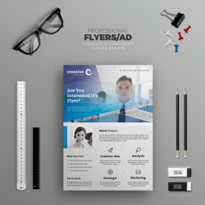 Rotterdam Modern Business Corporate Flyer Template