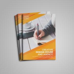 Ruby Bi-Fold Brochure Template