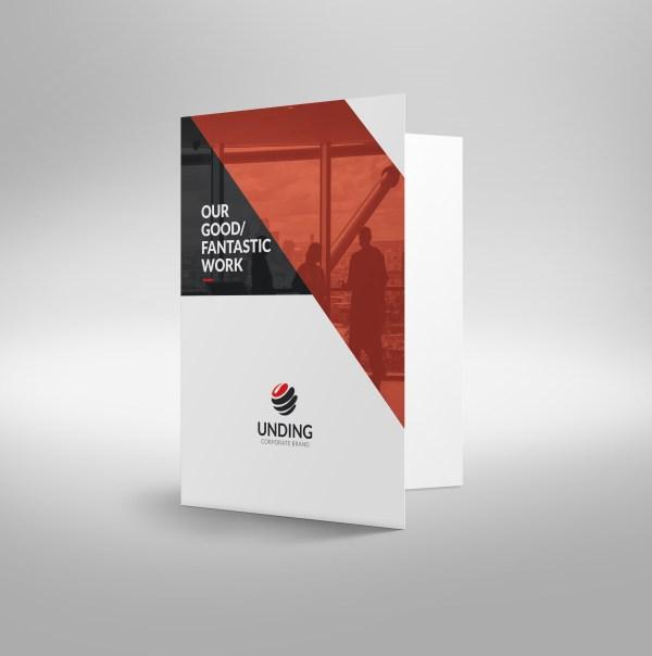 Sirius Sleek Corporate Presentation Folder Template